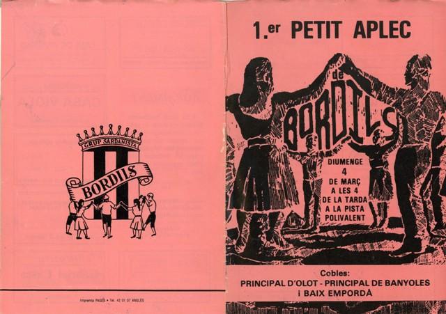 1990_04_04_programa_sardanes_ 1er petit aplec Bordils 000056