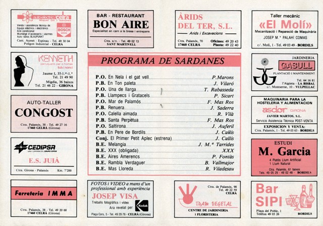 1990_04_04_programa_sardanes_ 1er petit aplec Bordils 4_000195