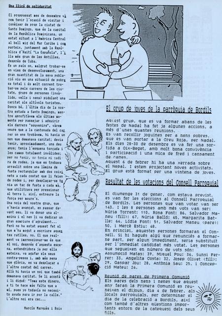 1993_02_00_Consell Parroquial_Full informatiu nº 6 Bordils b_000166