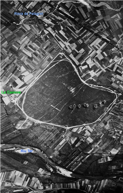 Bombardeo realizado por aviones Savoia S-79 de la  de  la Aviazione Legionaria delle Baleari durante la guerra civil de Celra  (Girona)